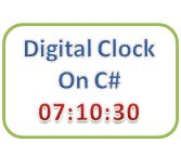 C# Program to Make a Digital Clock using Timer