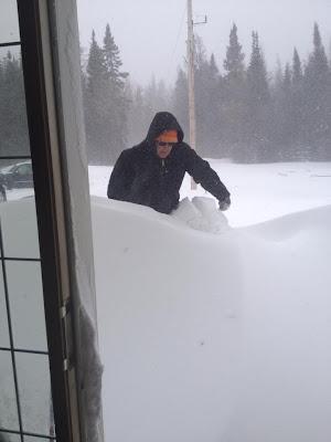 April 19, 2013 snow storm