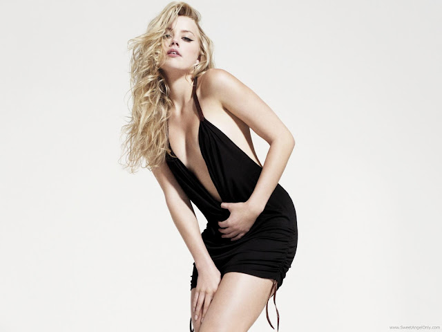 Amber Heard Glamor Wallpaper