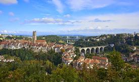 Notre belle ville de Fribourg