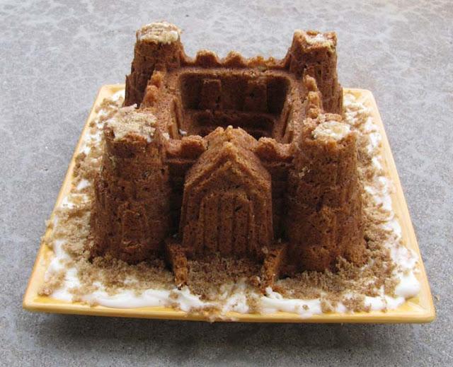 Sand Art Cake Mix : Cookie Art: Sandcastle Bundt Cake