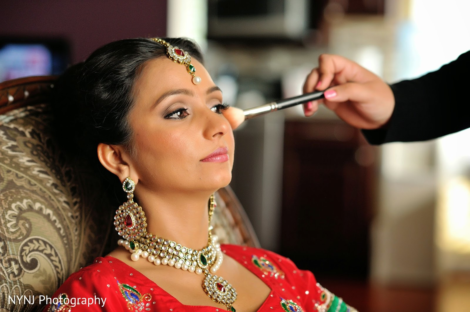 Lush bridal nj makeup hair lush bridal featured on maharani this beautiful wedding was held at the westminster hotel in livingston nj junglespirit Image collections