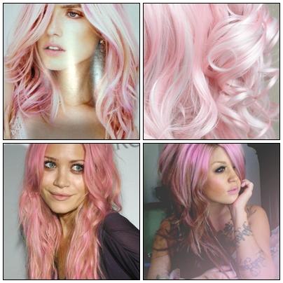 pastel lilla hårfarve