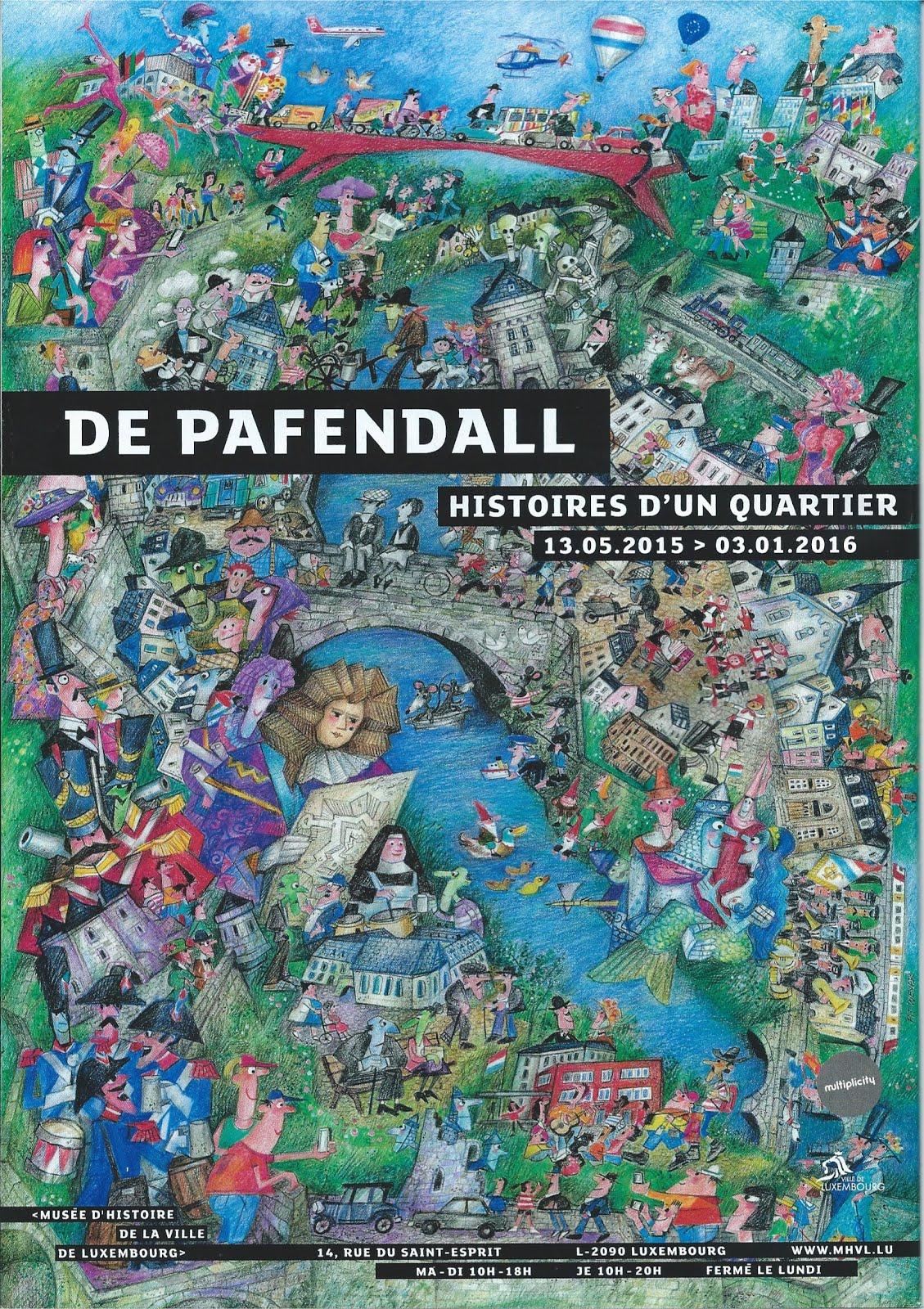 """VIDEO - DE PAFENDALL """"Histoires d'un quartier"""". Cliquez sur la photo. Version en luxembourgeois."""