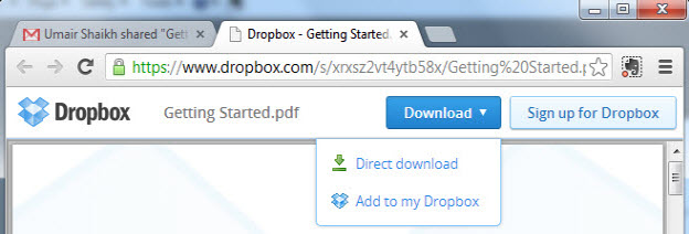 how to permently add someone to a dropbox folder