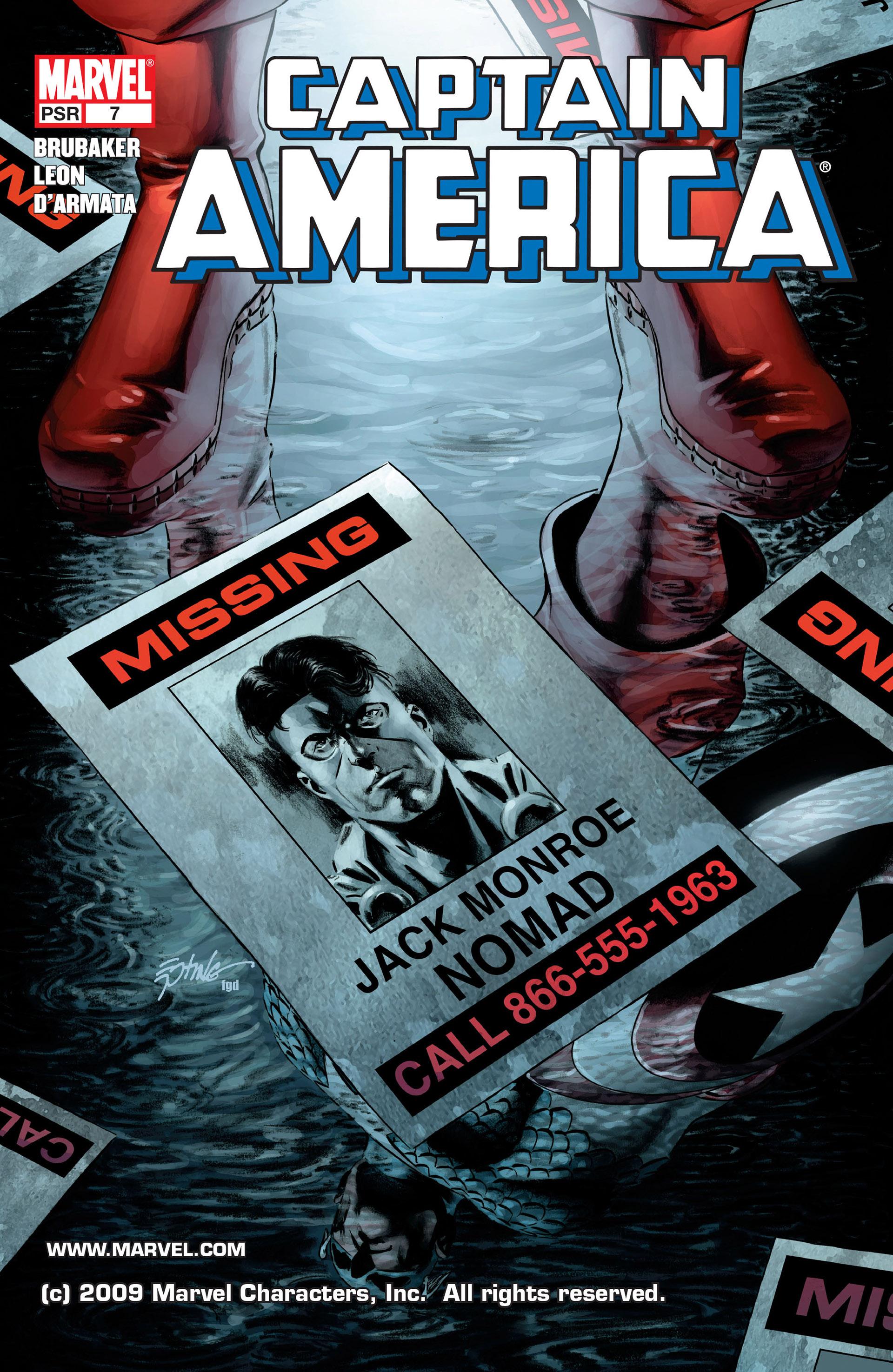 Captain America (2005) Issue #7 #7 - English 1