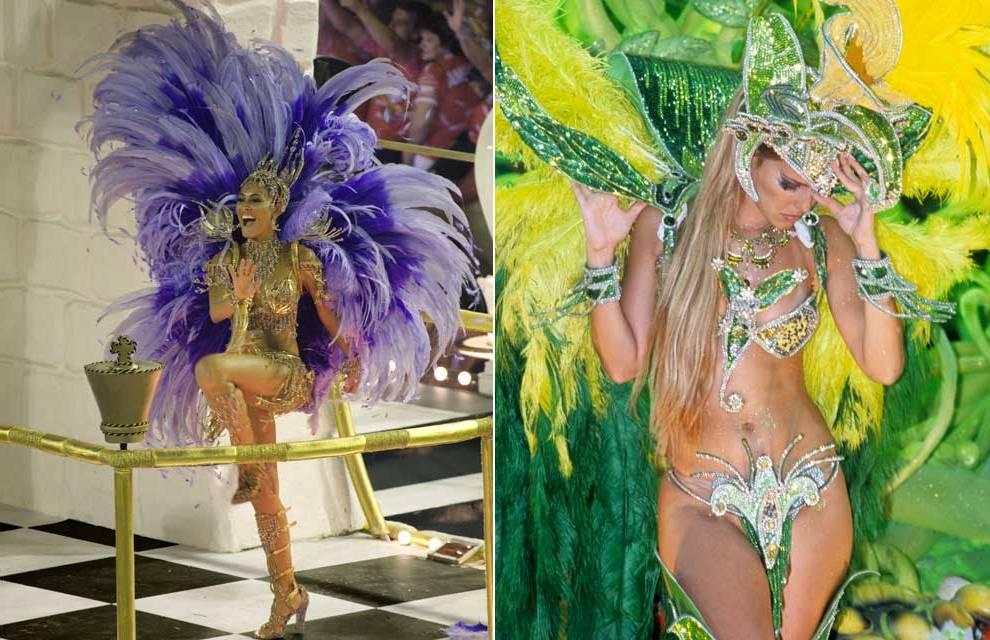 Rio Carnival 1984 - The beauty of women