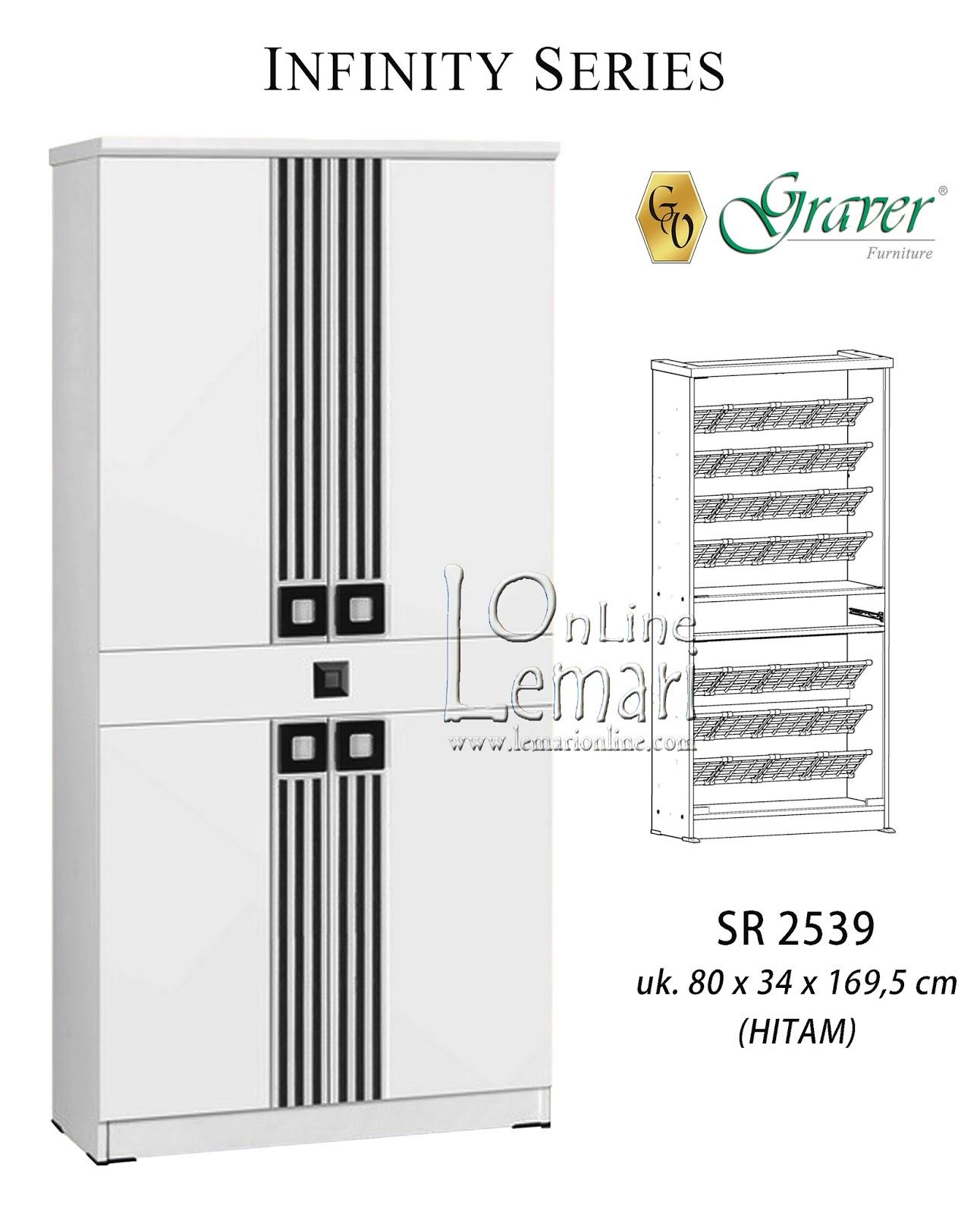Rak Sepatu Graver Sr9350 Walnut Daftar Harga Terbaru Dan Sr 2558 Infinity Series
