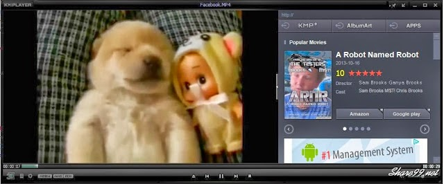 Tắt box quảng cáo khi xem video trên KMPlayer