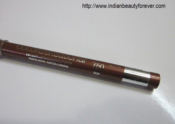 Maybelline Lip liner in Choco Pop