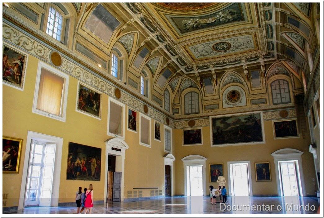 Museu Arqueológico Nacional de Nápoles, Salone della meridiana, Itália