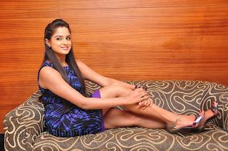Asmita Sood in Stunning Brown Short Gown Long Heels Glamorous Pics