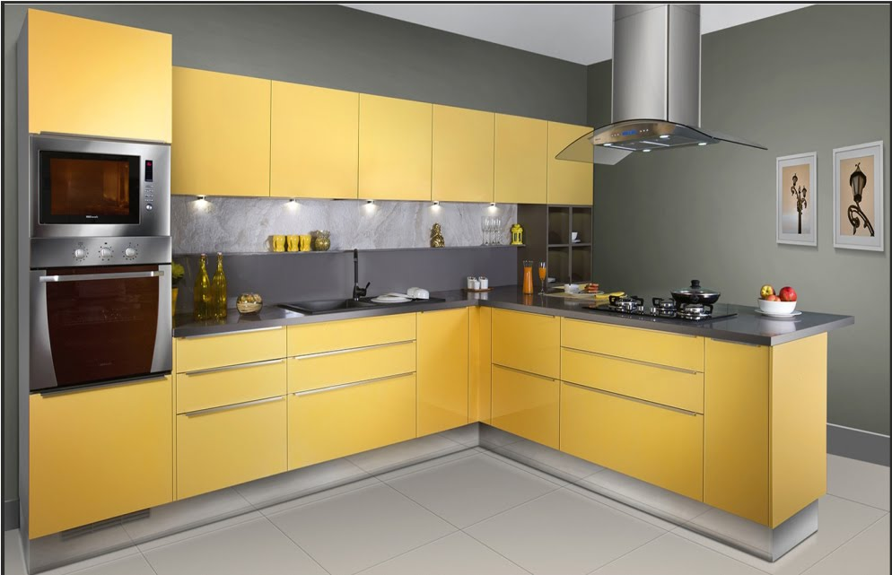Merveilleux Kitchen Design U0026 Pamphlet Design (3DS Max W VRAY) (Corel Draw)