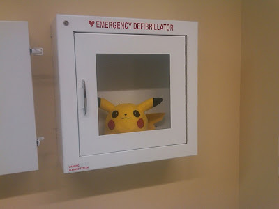Desfibrilador de emergencia Picachu Pokemon