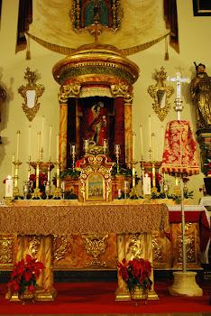 Altar San Sebastian 2012