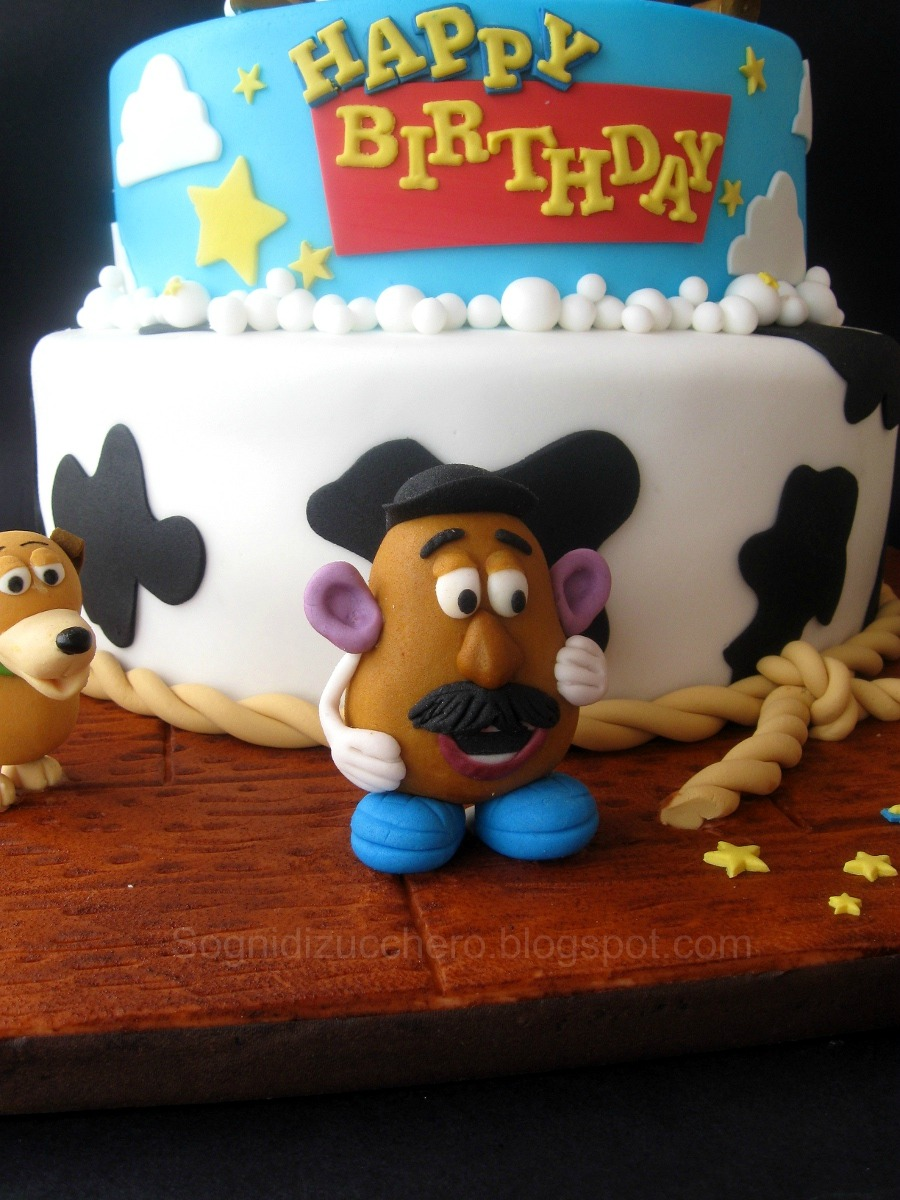 Sogni di zucchero toy story cake