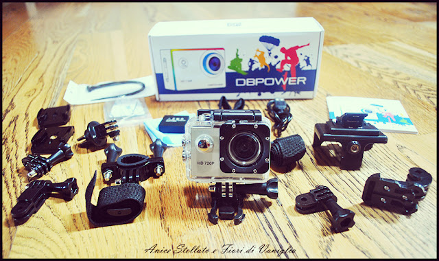 DB Power Action Camera ed il suo kit
