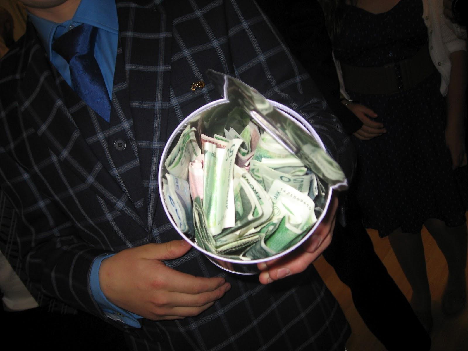 pengegave konfirmasjon nevø