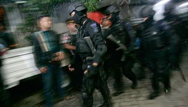 Densus 88 Tangkap Terduga Teroris di Tasikmalaya