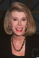 Picture of Comedian Joan Rivers who struggled with bulimia for years