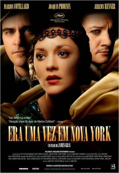 """Poster do filme """"Era Uma Vez em Nova York"""""""