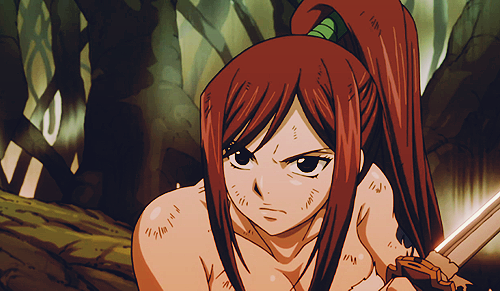 L'attraction des sucreries - Page 2 Erza+scarlet+fairy+tail+guild+anime+gif+image+picture