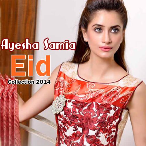 Ayesha Samia Eid Lawn 2014
