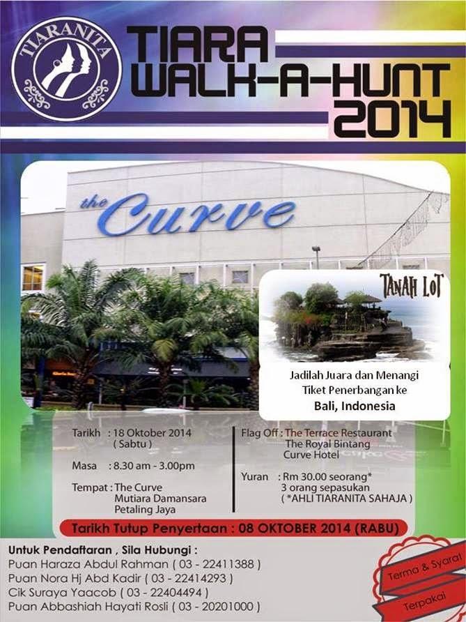 Tiaranita : Walk-A-Hunt 2014 (18 Oktober 2014)