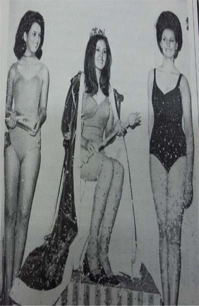 TOP 3 - MISS PARANÁ 1967