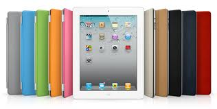 These are multi-colored iPads.