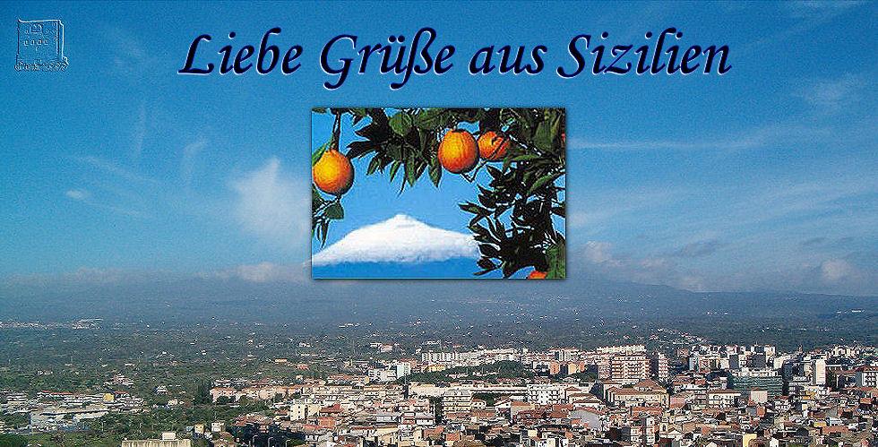 Liebe Grüße aus Sizilien