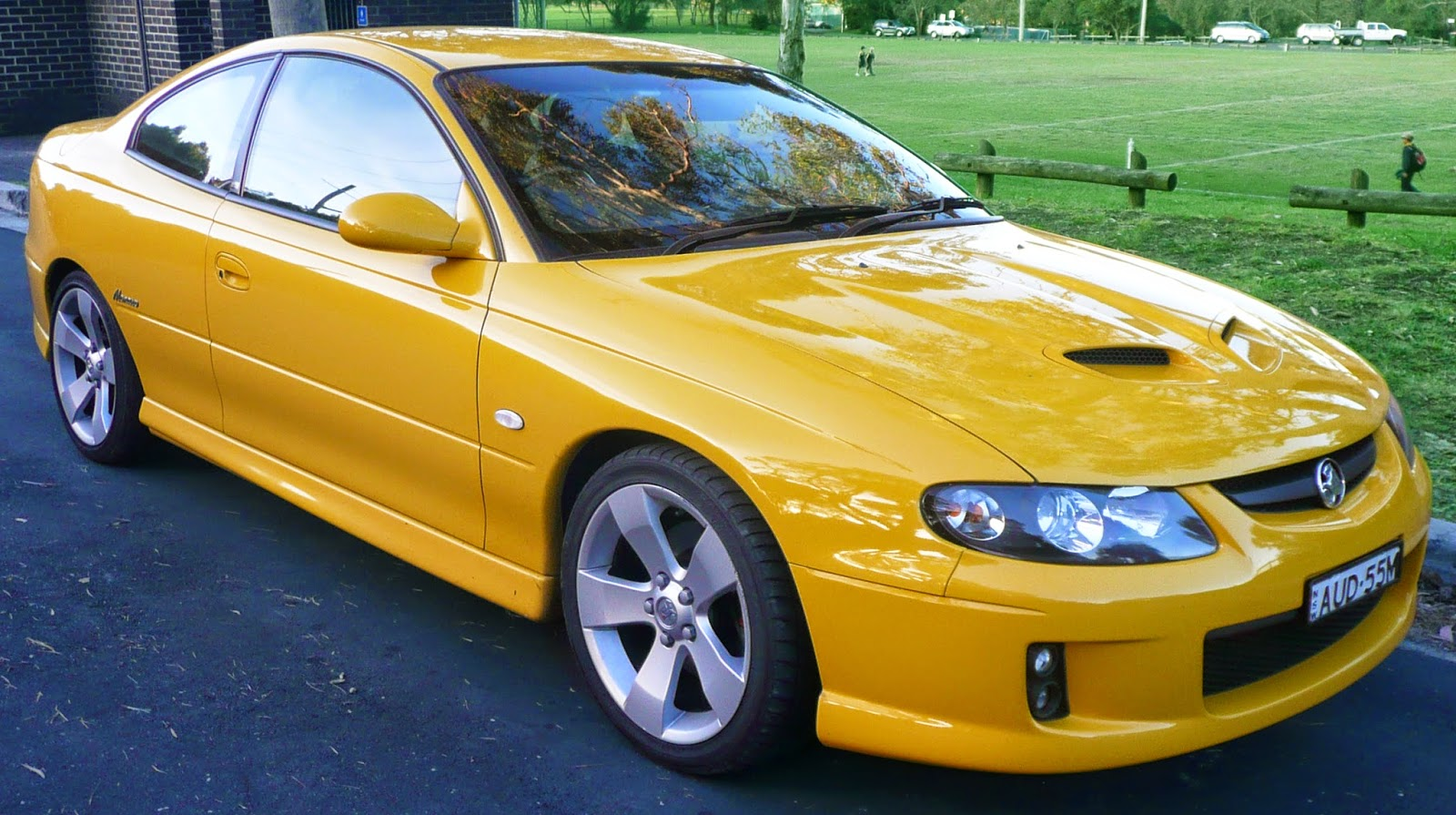 The Monaro coupé was resurrected in 2001 as a low-volume niche model. Unanticipated overseas demand proved otherwise