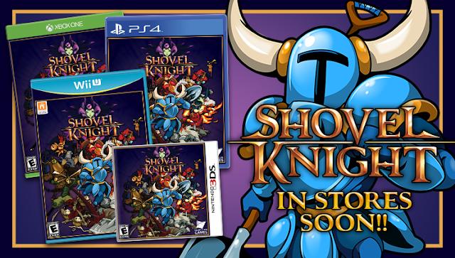 ¡Shovel Knight tendrá versión física!
