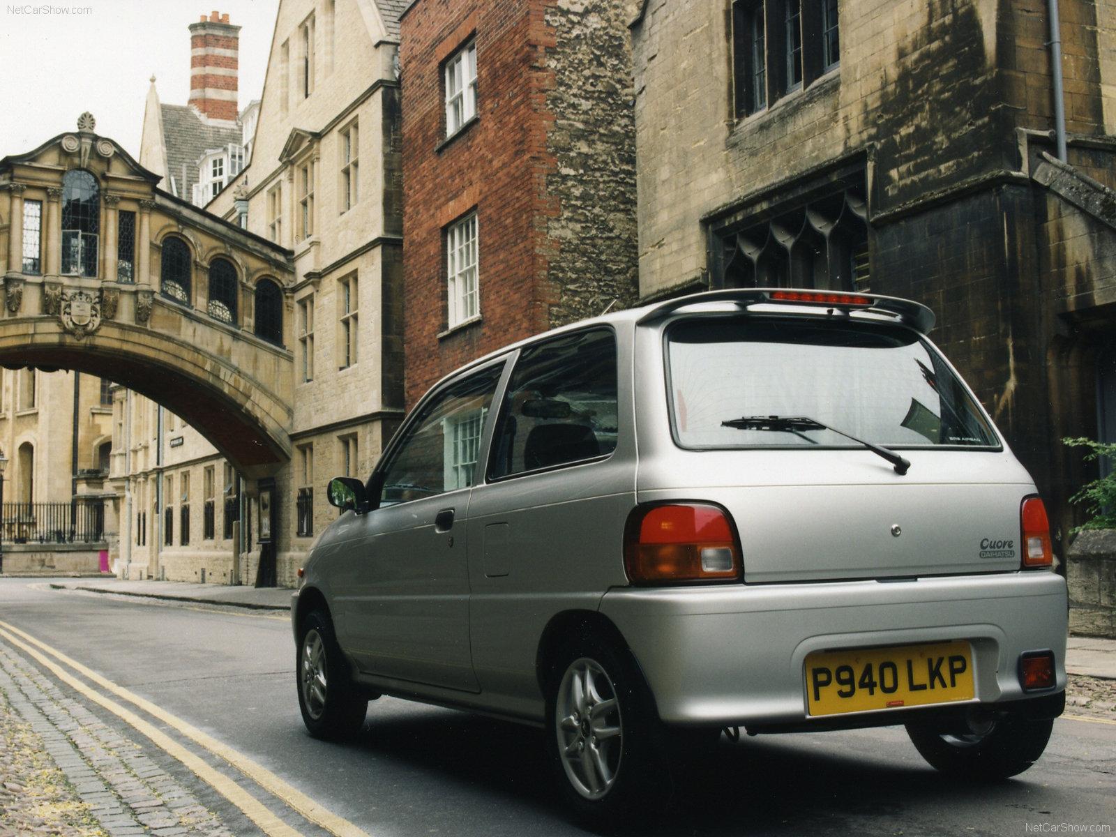 Hình ảnh xe ô tô Daihatsu Cuore 1997 & nội ngoại thất