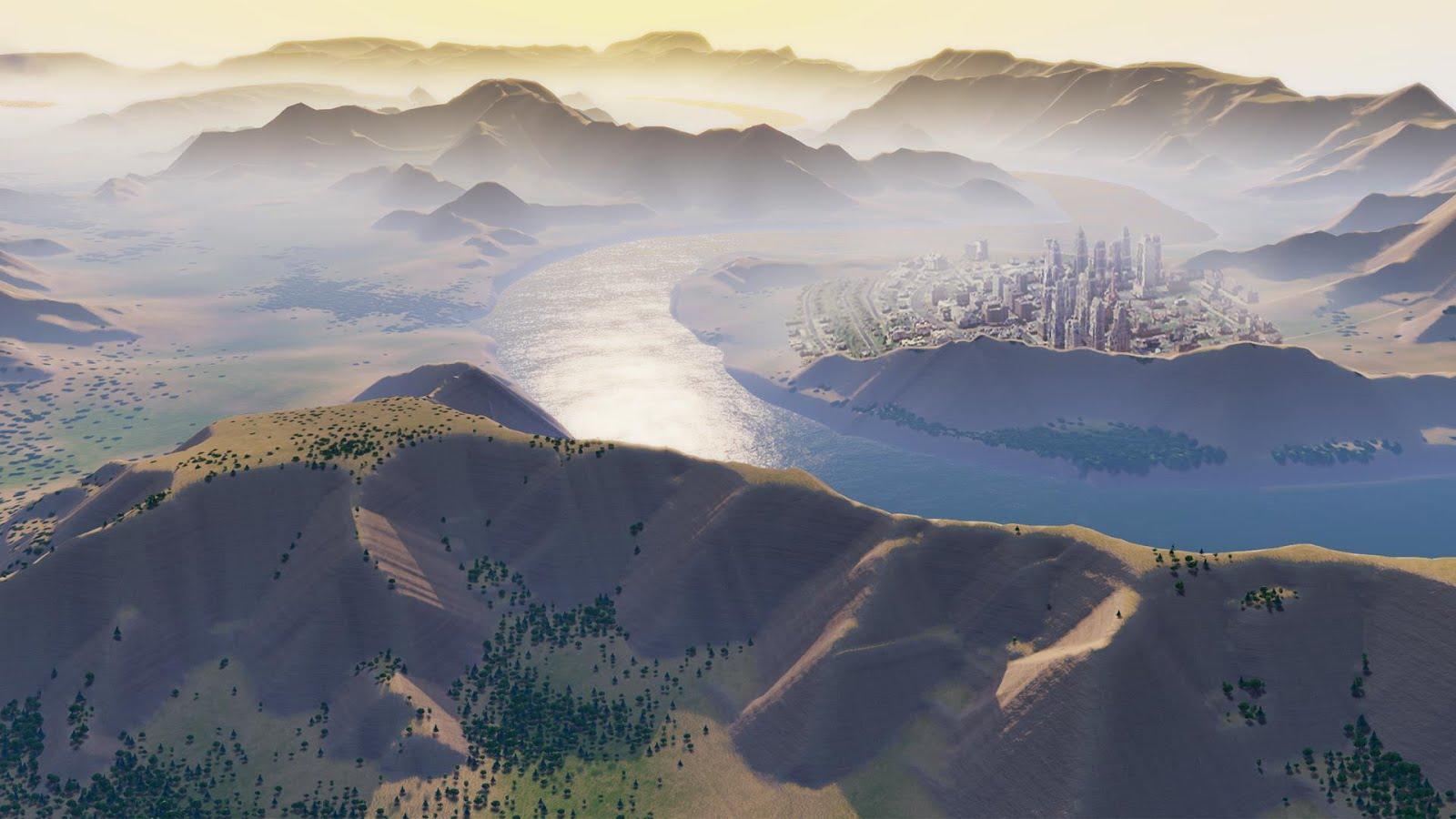 Изображение региона в Сим Сити