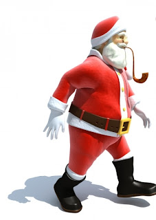 3d Santa images