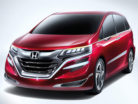 2014 Honda M Concept Japanese car photos