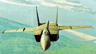 montar avion mig-25 de papel
