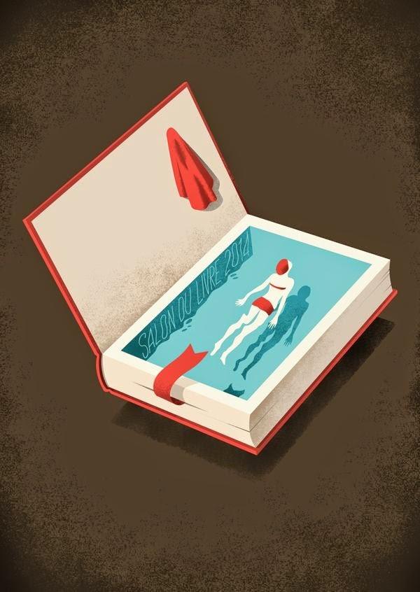 Leia Livros! Mergulhe em um livro.