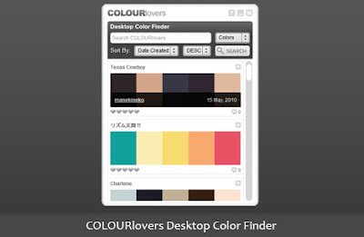 ColourLovers Desktop Color Finder