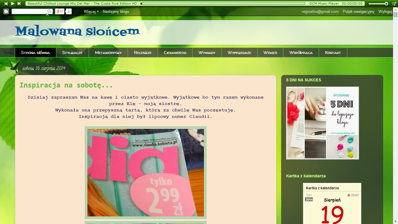 Co blogowanie zmieniło w moim życiu...