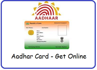 Apply Aadhar online