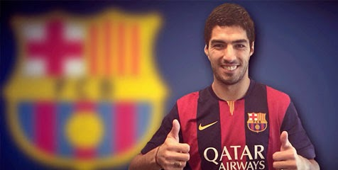 Luis Suarez Pindah ke Barcelona