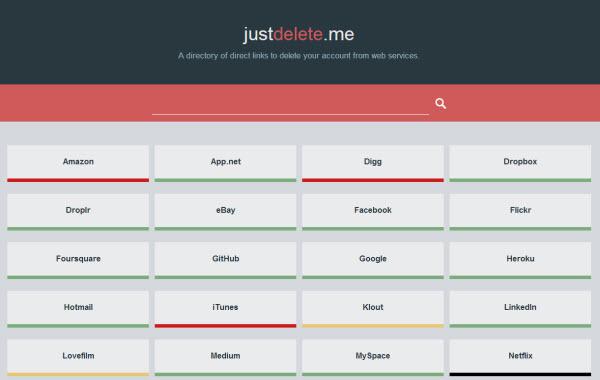 justdelete.me-social media-seguridad-redes sociales-borrar cuentas