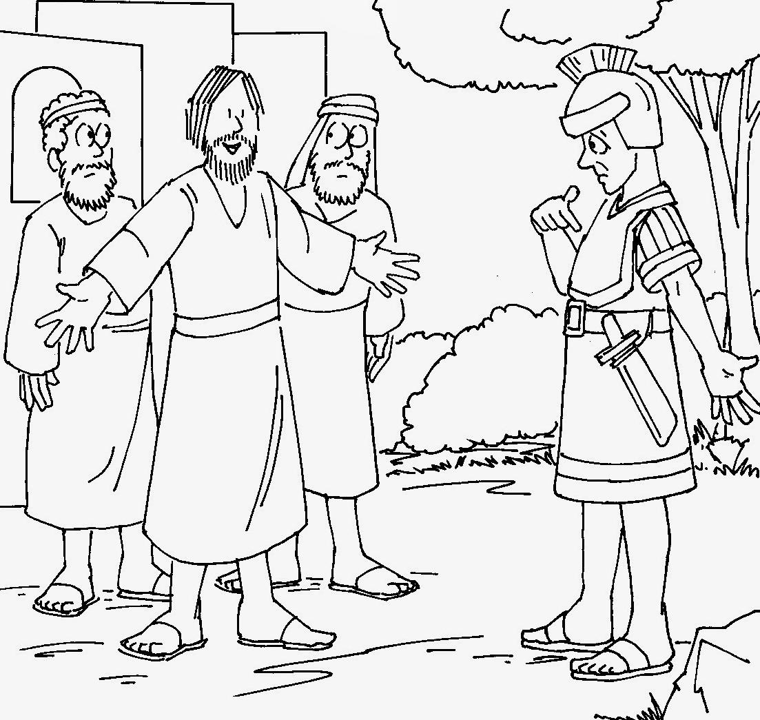 El Renuevo De Jehova: Sanidad del siervo de un centurión (de parálisis)