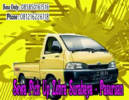 Sewa Pick Up Zebra Surabaya - Pasuruan
