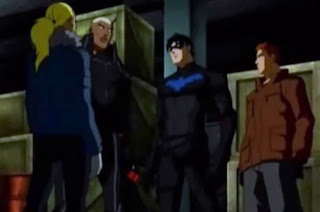 Artemis, Aqualad, Asa Noturna e Kid Flash