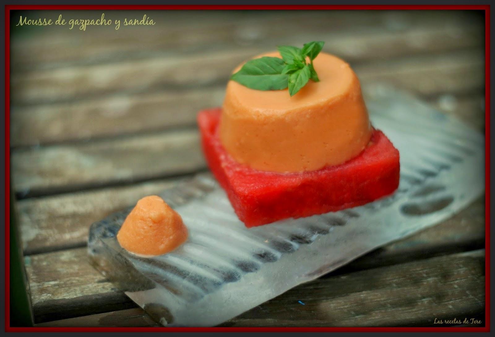 mousse de gazpacho y sandía 06