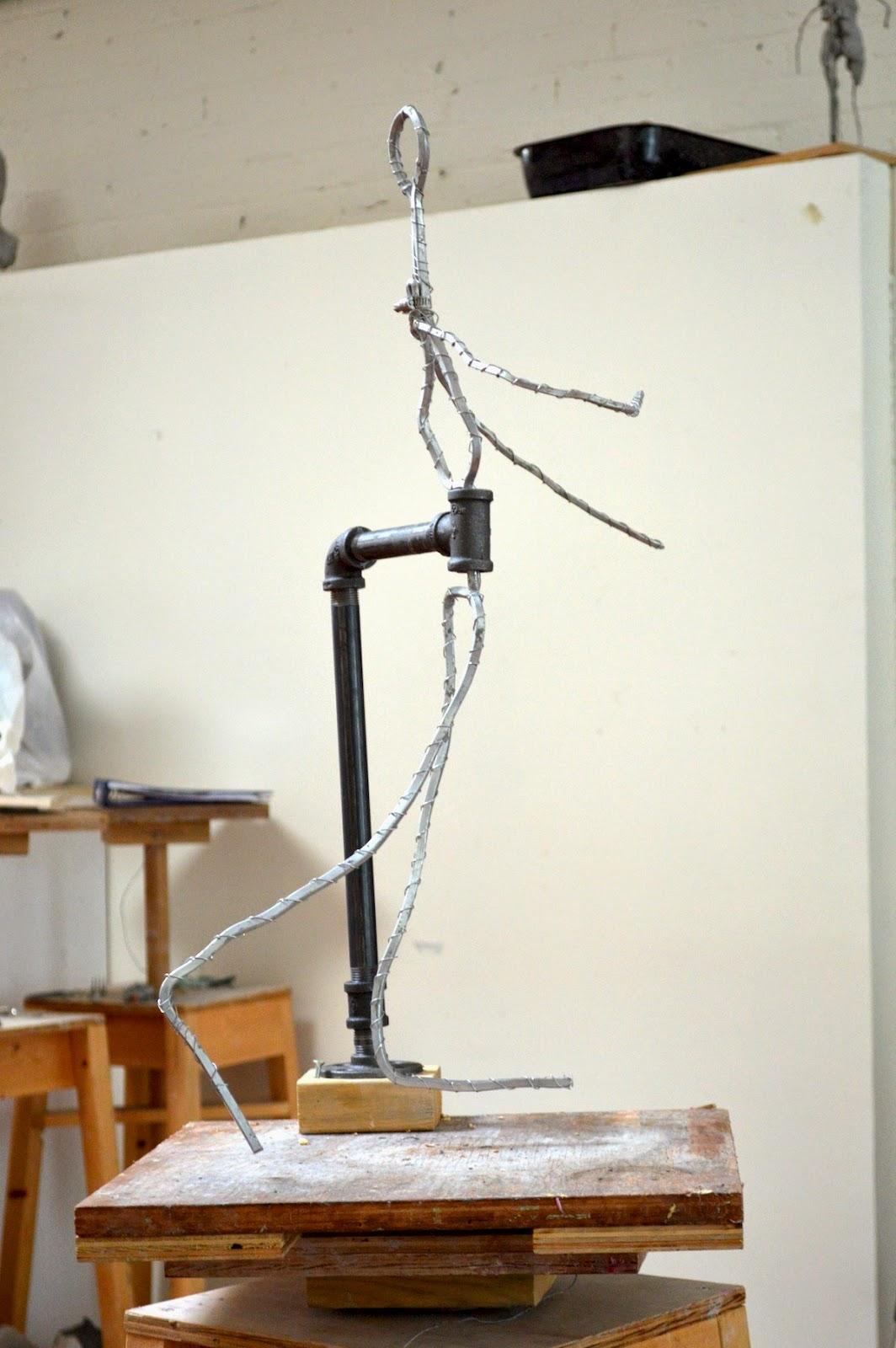 Figurative Sculpture Melanie Furtado Sculpting A Female