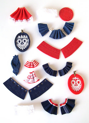 Collar bib necklaces nautical